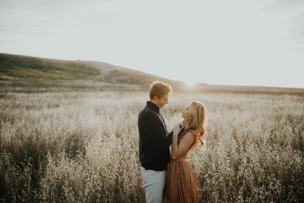 Quail Hill Irvine Engagement Photo Intimate Orange County